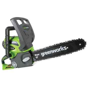 Greenworks 20262 Cordless Chainsaw-
