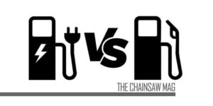 Electric vs Gas Chainsaws featured